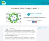 Design & Build Backgrounder