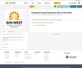 Frequently Asked Questions: PLCs at Sun West