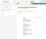 Factors Affecting Student Achievement