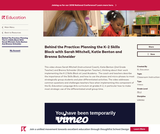 Behind the Practice: Planning the K-2 Skills Block with Sarah Mitchell, Katie Benton and Brenna Schneider