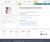 Create a Novel Study for Younger Students