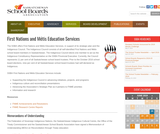 First Nations and Métis Education Services