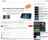 Learn Accounting in 1 Hour - Financial Statements