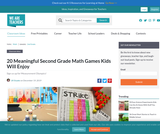 20 Meaningful Second Grade Math Games Kids Will Enjoy
