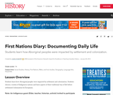 First Nations Diary: Documenting Daily Life