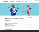 Creating and Performing Melodic Contour