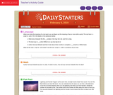 Daily Starters