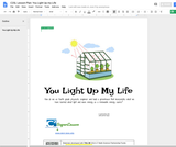 C2SL Lesson Plan: You Light Up my Life