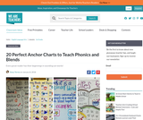 20 Perfect Anchor Charts for Teaching Phonics and Blends