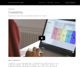 Creatability - Experiments with Google for Accessibility