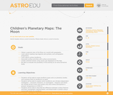 Children's Planetary Maps: The Moon