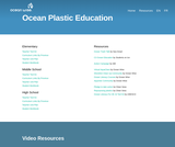 Ocean Plastic Education