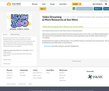 Video Streaming & More Resources at Sun West