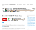 Coding - Brock U-NCDSB CT + Math Tasks – Math Knowledge Network