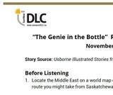 """""""The Genie in the Bottle"""" Read Aloud: Listening Guide"""