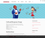 Call and Response Songs