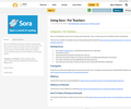Using Sora - For Teachers