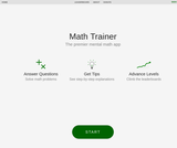 Math Trainer — Practice Mental Math