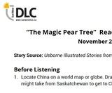 """The Magic Pear Tree"" Read Aloud: Listening Guide"
