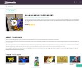 Solar Energy Defenders Game