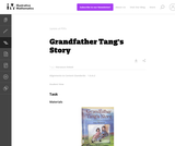 1.G Grandfather Tang's Story