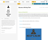 Become a Writing Thief