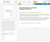 EAL Writing Rubrics and Student Exemplars: Grades 1-8