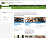 Environmental Health Science and Technology Education