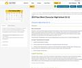 2019 Sun West Character High School 10-12