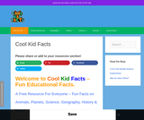 Cool Kids Facts - Fun Facts For Kids