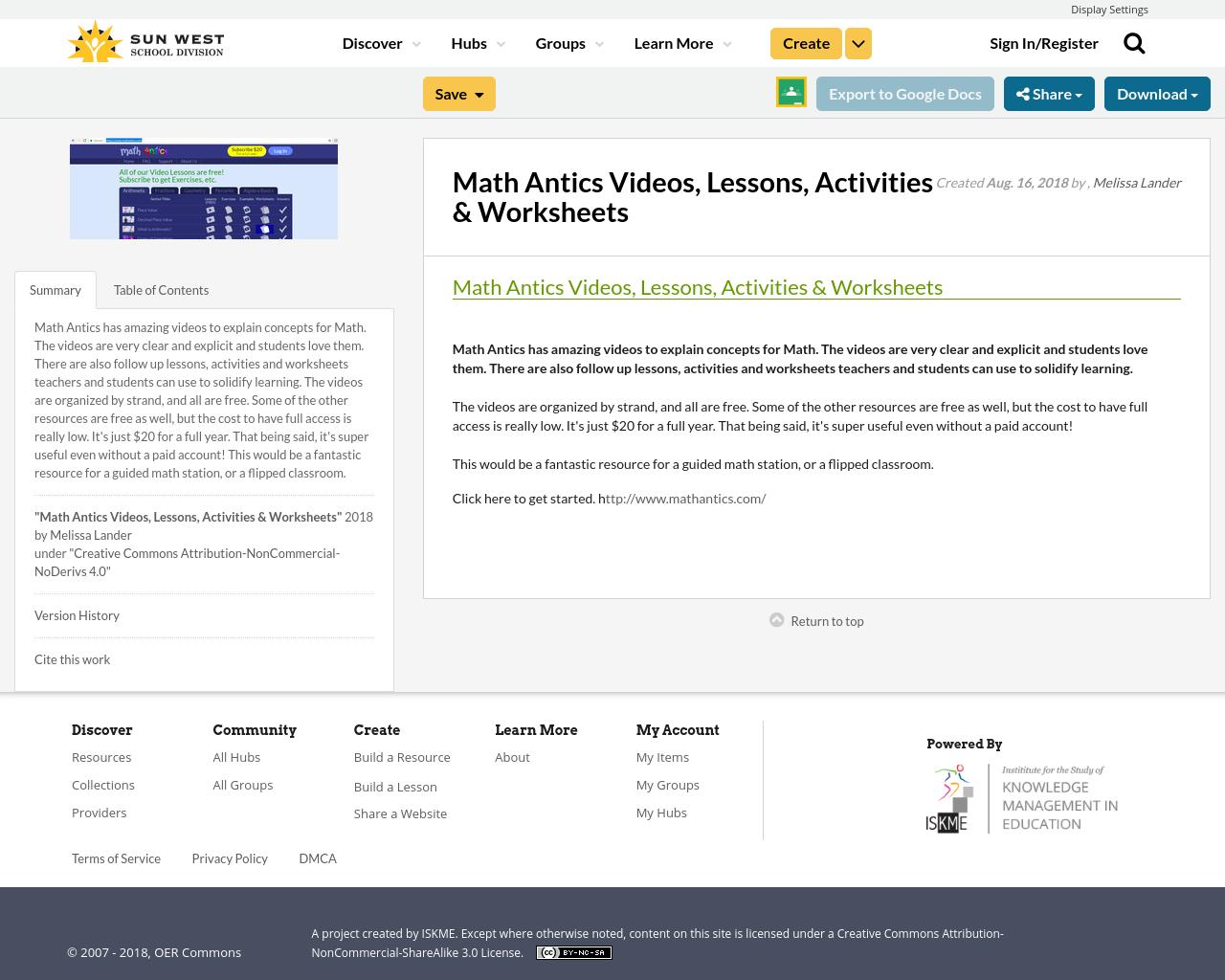 Math Antics Videos, Lessons, Activities & Worksheets ...