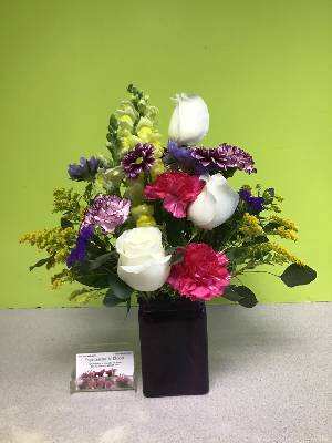 A 2 Star Customer Reviewed Flower Arrangement Designed by Expressions In Bloom in Corvallis, OR