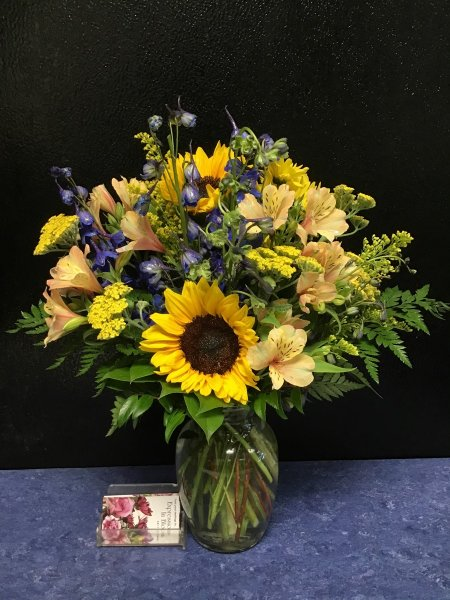 A 5 Star Customer Reviewed Flower Arrangement Designed by Expressions In Bloom in Corvallis, OR