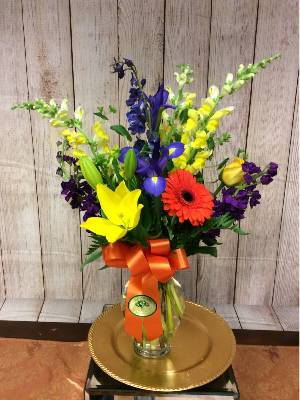 A 1 Star Customer Reviewed Flower Arrangement Designed by House of Blooms in Sugar Land, TX