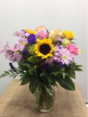 A 5 Star Customer Reviewed Flower Arrangement Designed by Miami Gardens Florist in Aventura, FL