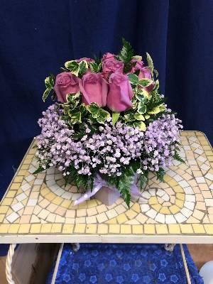 A 4 Star Customer Reviewed Flower Arrangement Designed by Salvy the Florist in Lynn, MA