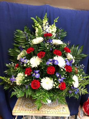 A 5 Star Customer Reviewed Flower Arrangement Designed by Salvy the Florist in Lynn, MA