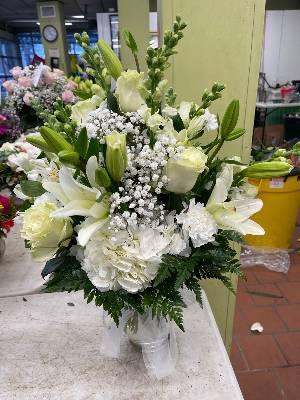 A 5 Star Customer Reviewed Flower Arrangement Designed by Salvy the Florist in Lynn, MA