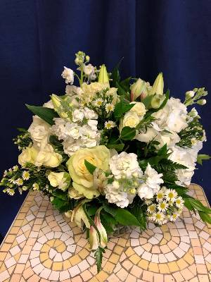 A 4 Star Customer Reviewed Flower Arrangement Designed by Salvy the Florist in Lynn, MA