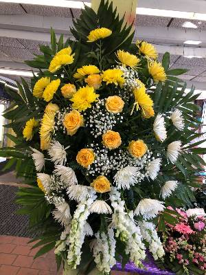 A 1 Star Customer Reviewed Flower Arrangement Designed by Salvy the Florist in Lynn, MA