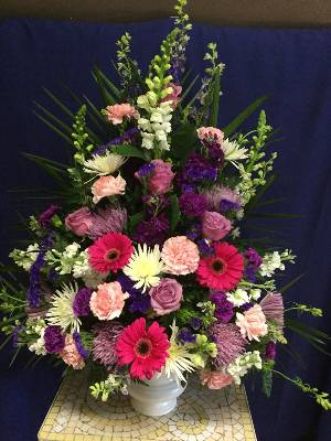 A 4 Star Customer Reviewed Flower Arrangement Designed by Salvy the Florist and Val's of Chelsea in Chelsea, MA