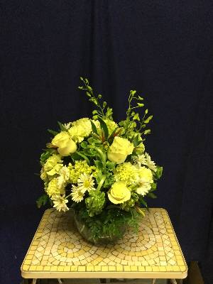 A 2 Star Customer Reviewed Flower Arrangement Designed by Salvy the Florist and Val's of Chelsea in Chelsea, MA