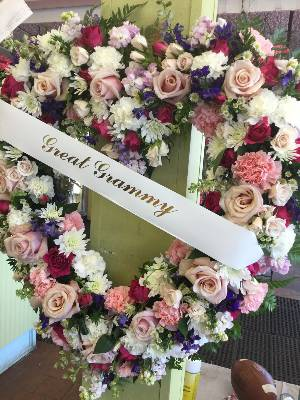 A 5 Star Customer Reviewed Flower Arrangement Designed by Salvy the Florist and Val's of Chelsea in Chelsea, MA