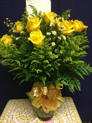 A 1 Star Customer Reviewed Flower Arrangement Designed by Salvy the Florist and Val's of Chelsea in Chelsea, MA