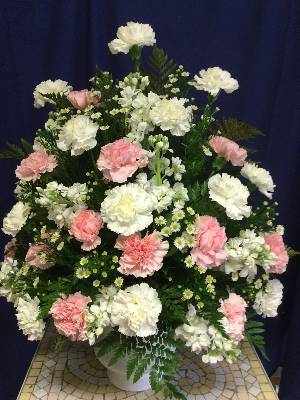 A 3 Star Customer Reviewed Flower Arrangement Designed by Salvy the Florist and Val's of Chelsea in Chelsea, MA