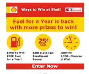 Shell-Fuels-Sweepstakes
