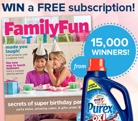 FREE Family Fun Subscription Giveaway
