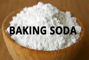 baking soda bowl