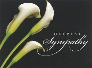 sympathy deepest