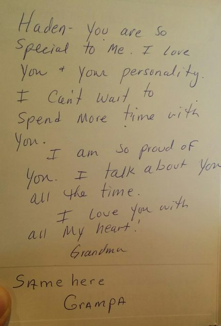 Grandma Writes VERY Expressive Letter To Grandson. Wait Until You
